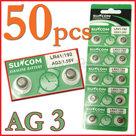 Voordeelverpakking-50-Stuks-AG3-Horloge-Knoopcel-Batterijen